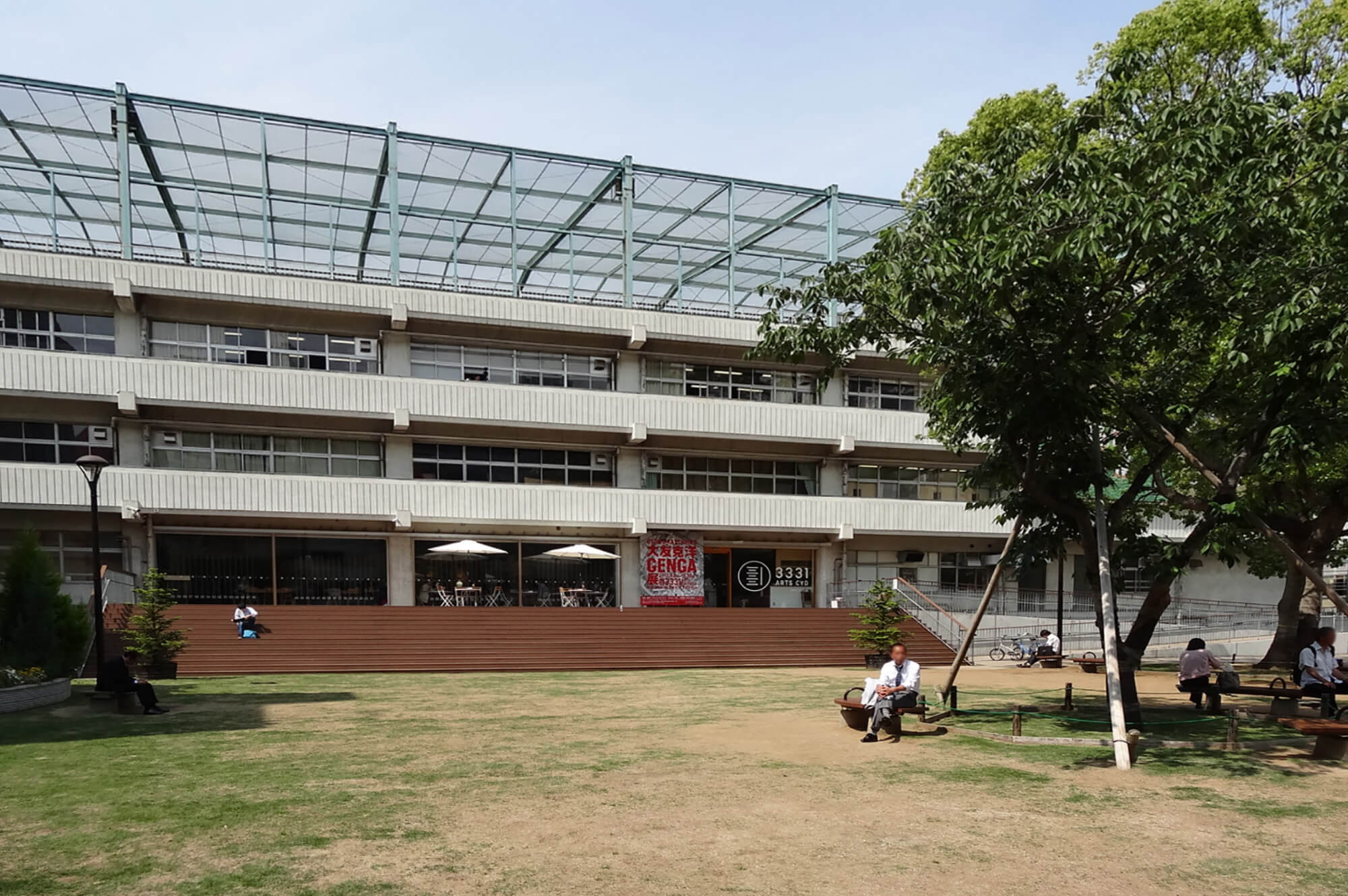 ちよだアートスクエア構想 施設計画・運営計画策定業務(現3331アーツ千代田)|offsociety inc. Chiyoda Art Square - Project & Management Planning 現代美術・アート Contemporary Art
