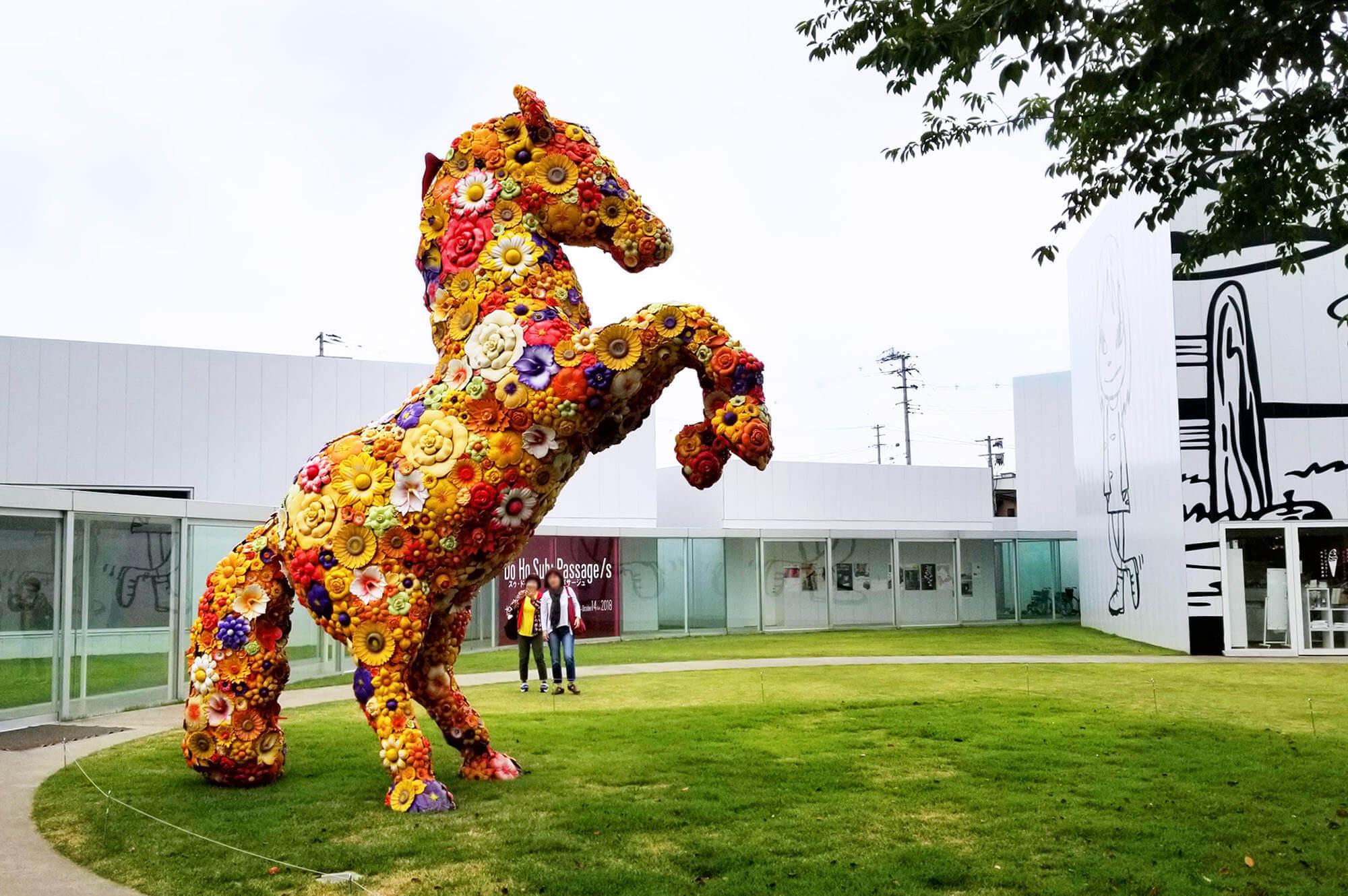 チェ・ジョンファ フラワー・ホース 現代美術 Contemporary Art