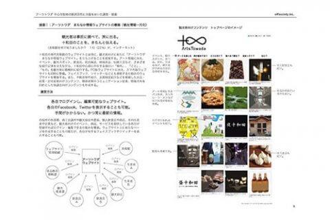 アーツトワダ まちなか情報ウェブサイト構築 | 広報・PR | offsociety | オフソサエティ | 長田哲征 Tetsuyuki Nagata