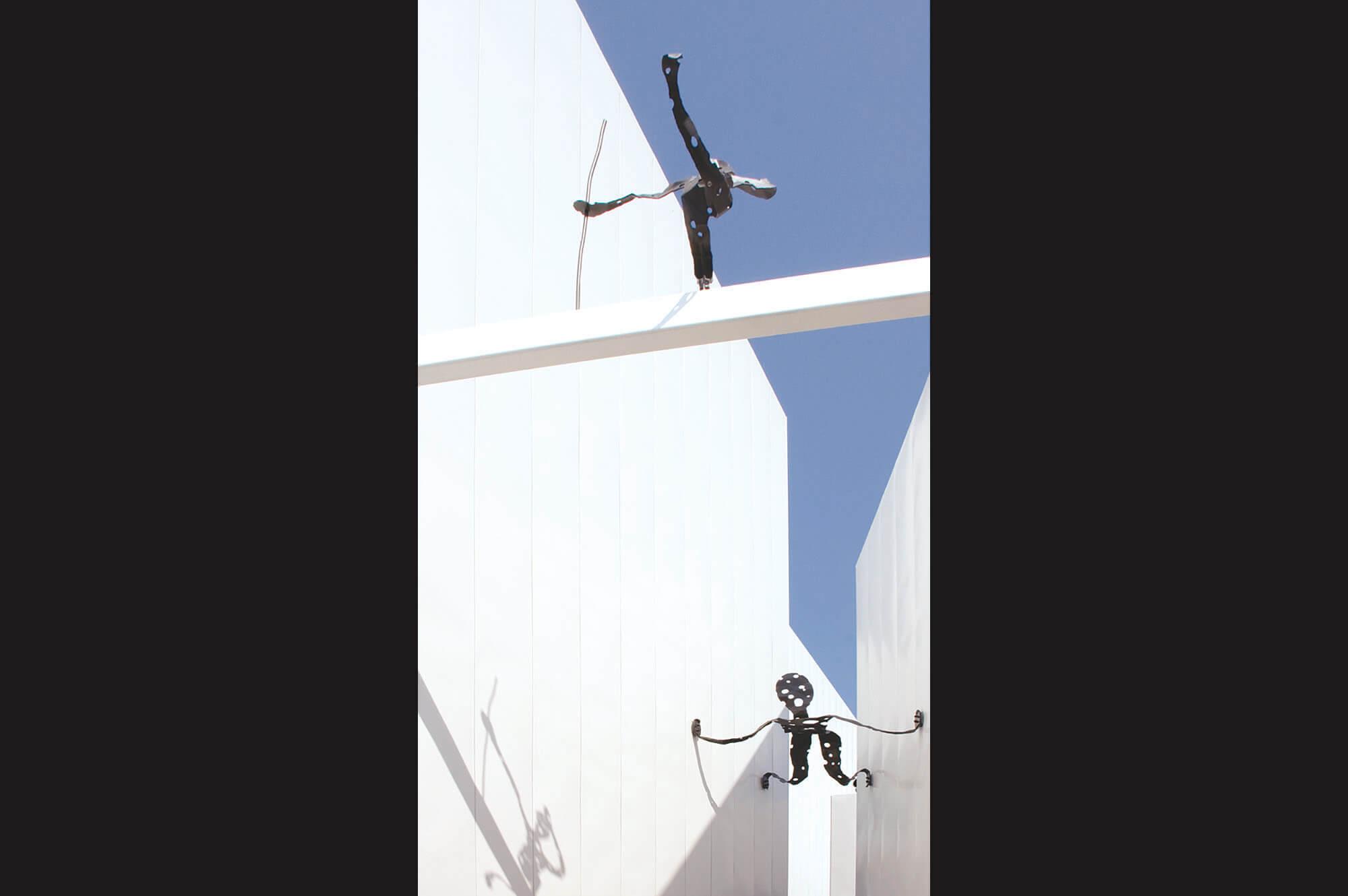 森北伸 Flying Man and Hunter 現代美術 Contemporary Art