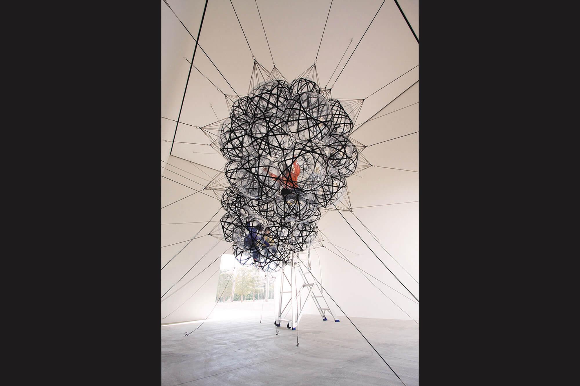 トマス・サラセーノ On Clouds (Air-Port-City)  現代美術 Contemporary Art