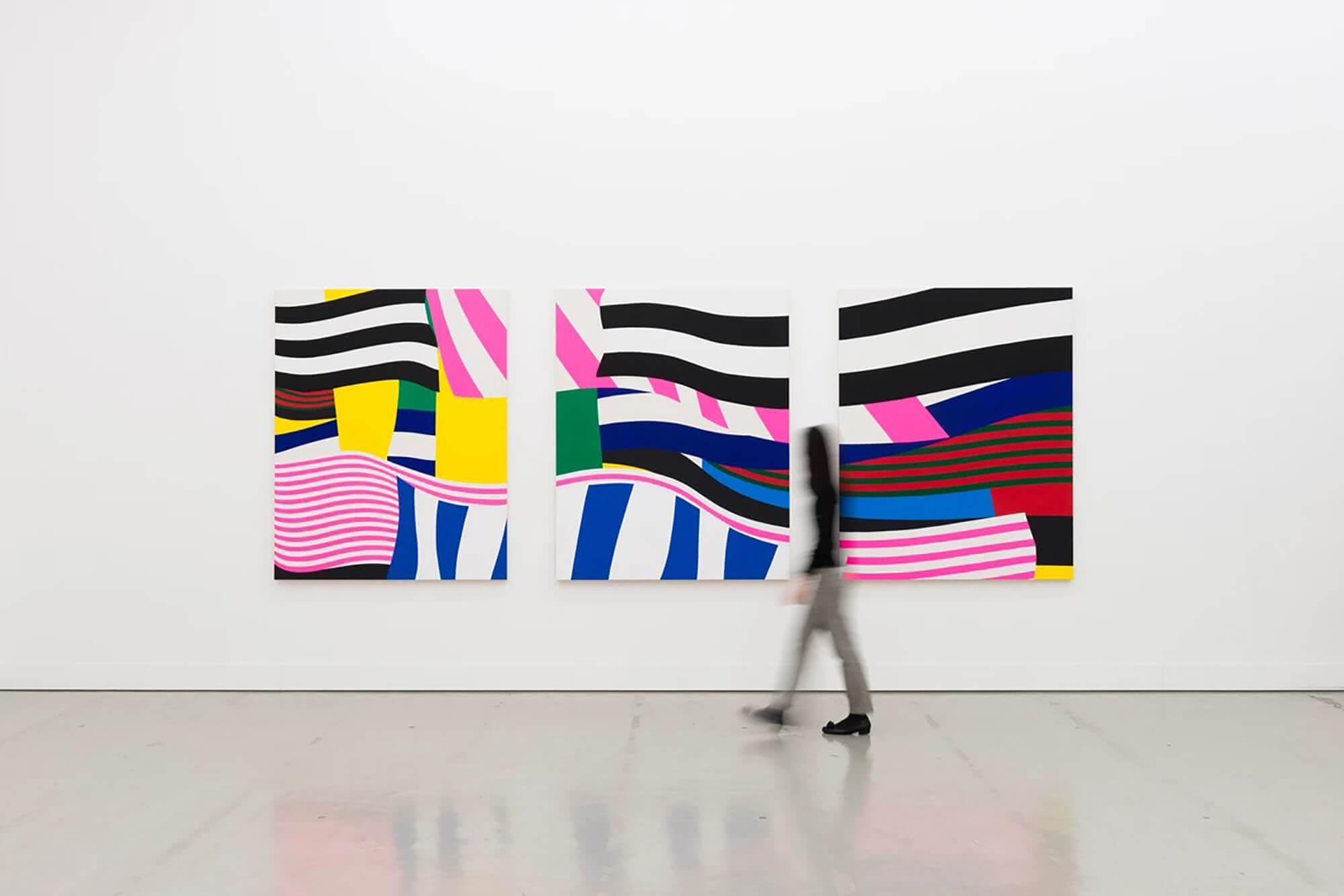 現代美術展「崖と階段」
