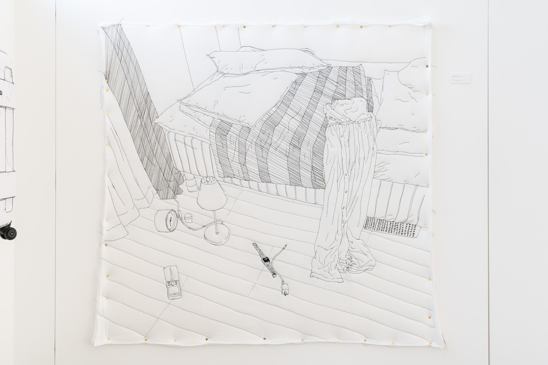 ユ・ソラ展展示風景 現代美術・アート Contemporary Art オフソサエティ offsociety