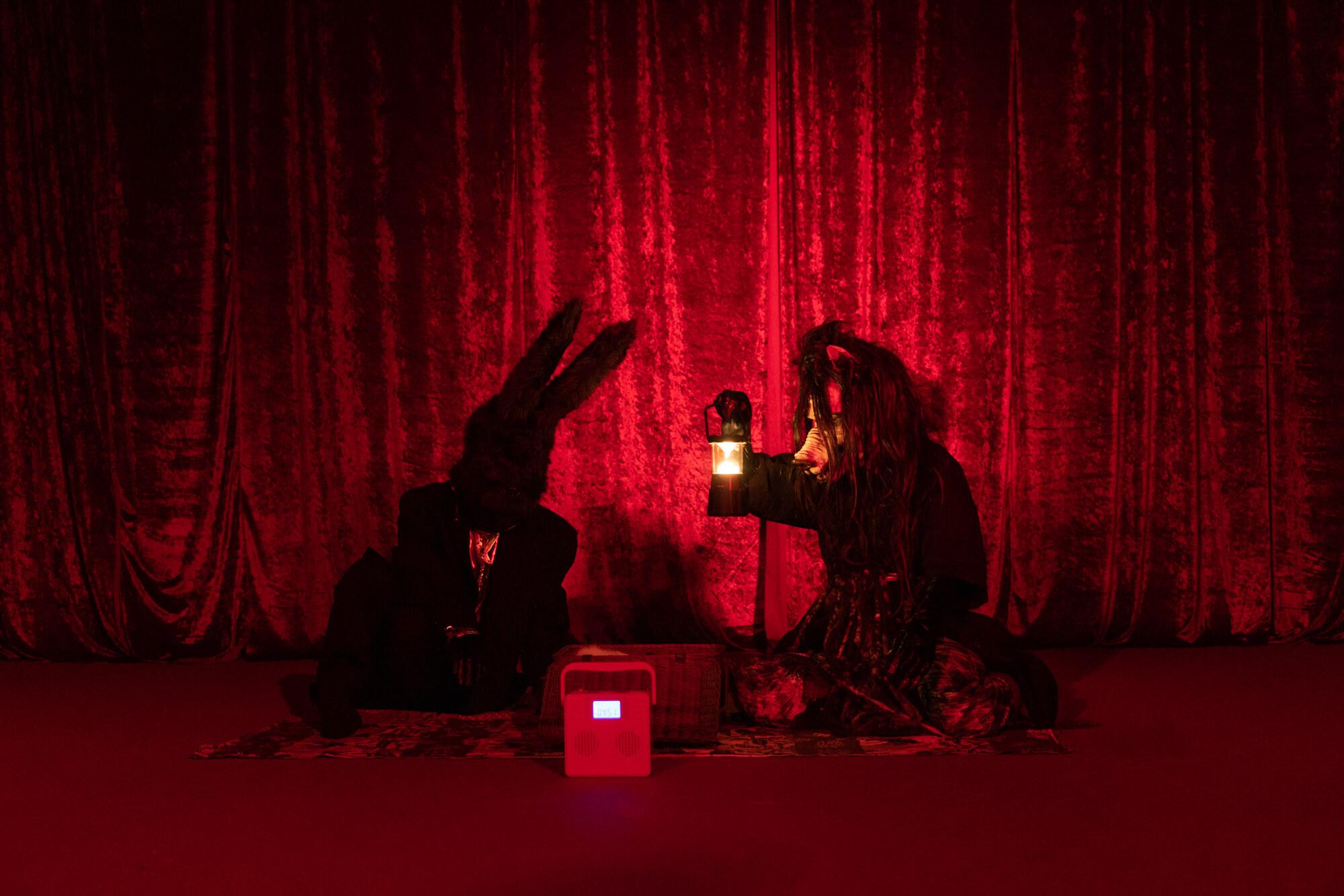 RED ROOM #5 開催風景 現代美術・アート Contemporary Art オフソサエティ offsociety