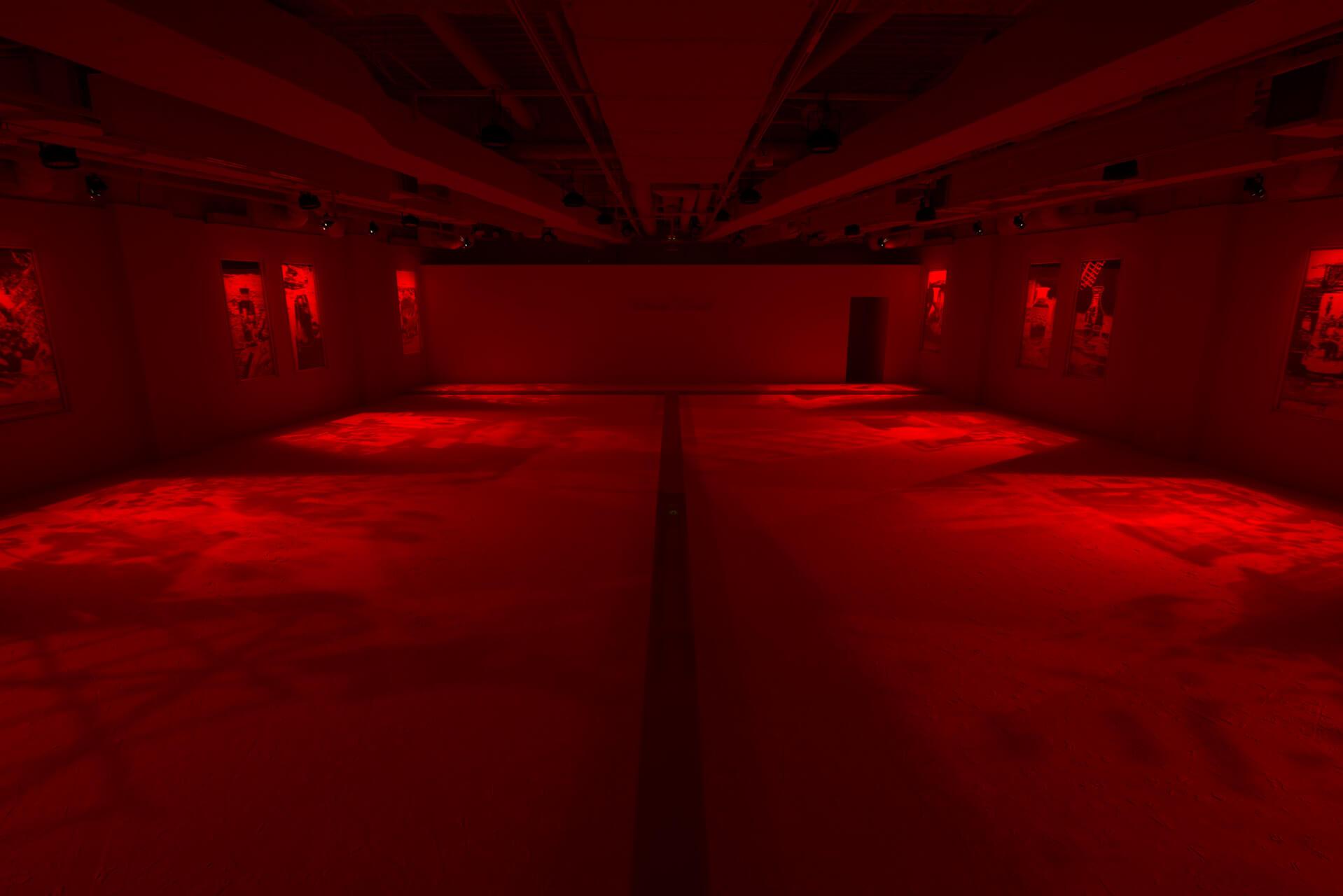 大巻展展示風景 現代美術・アート Contemporary Art オフソサエティ offsociety