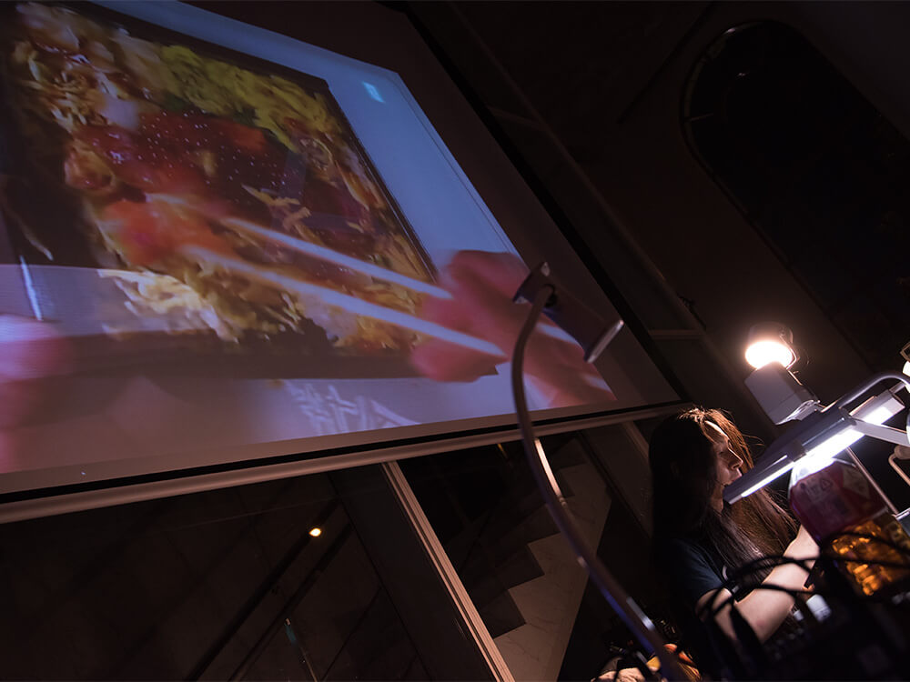 山川展公演風景 現代美術・アート Contemporary Art オフソサエティ offsociety