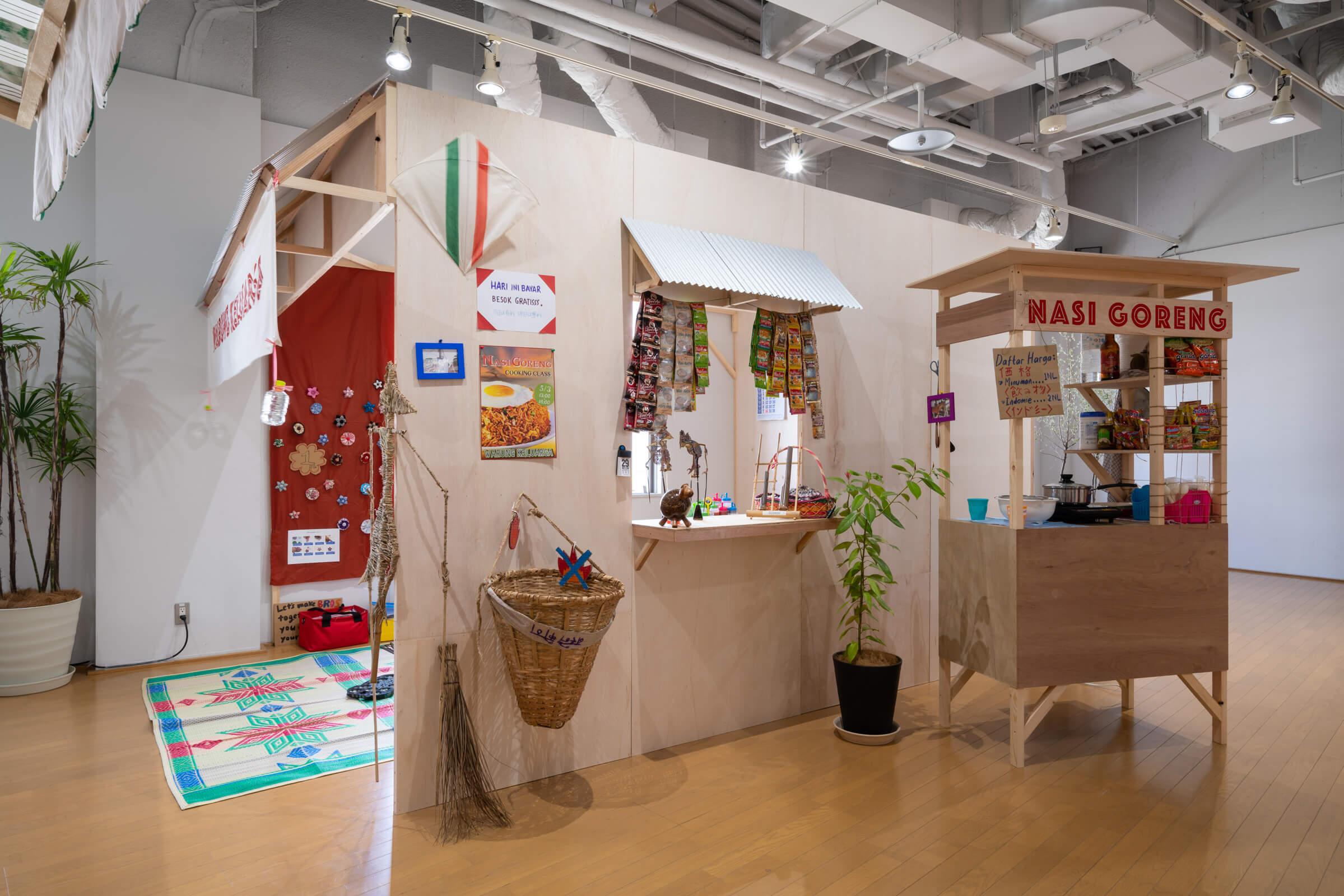 北澤展会期スタート風景 現代美術・アート Contemporary Art オフソサエティ offsociety